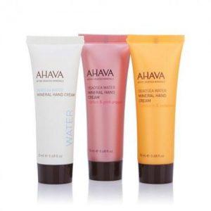 ahava trio travel creams