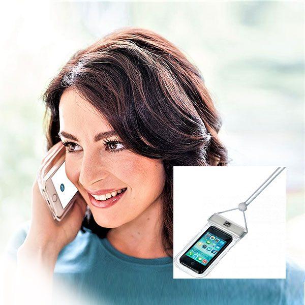 vandeniui atsparus deklas telefonui