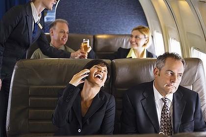 Telefono naudojimas lėktuve