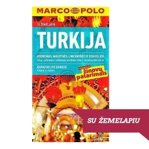 Kelionės knyga Turkija