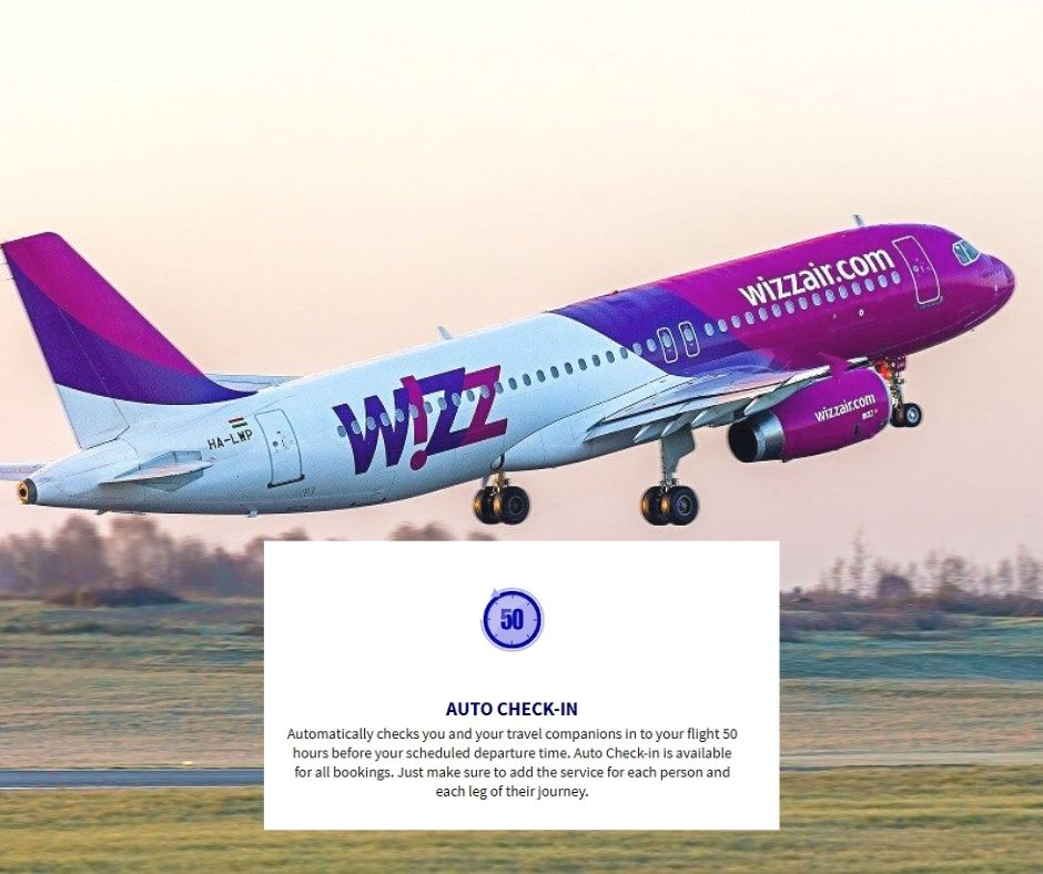 wizzair automatinis check-in