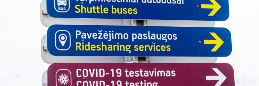 Testavimas Vilniaus Oro uoste